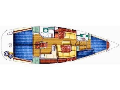 Yacht Sun Odyssey 43 chartern in Marina Kastela-28157-0