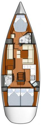 Segelyacht Sun Odyssey 45 chartern in Jezera-29612-0