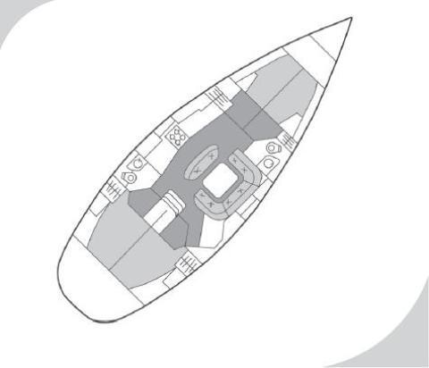 Segelyacht Sun Odyssey 45 in Marina Hramina leihen-31043-0