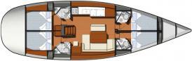 Yacht Sun Odyssey 49i in Tropea chartern-28818-0