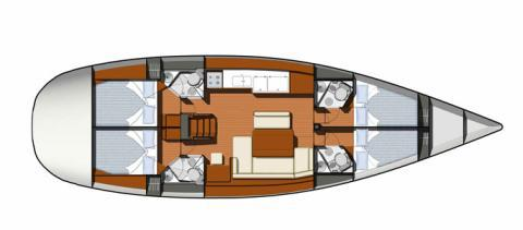 Segelyacht Sun Odyssey 49i in Furnari chartern-71613-1-0