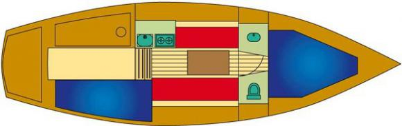 Segelboot van de Stadt 27 in Terkaple chartern-30615-0