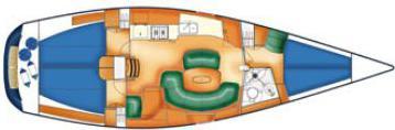 Segelyacht X-40 in Marina Hjuvik chartern-31312-0
