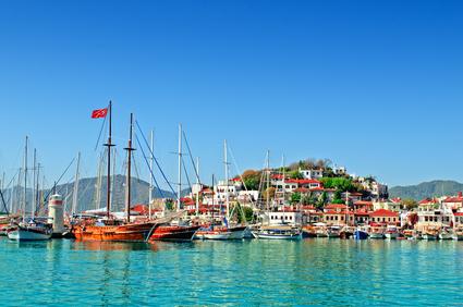 Yachtcharter Marmaris - Mit dem Traumboot durch türkische Gewässer