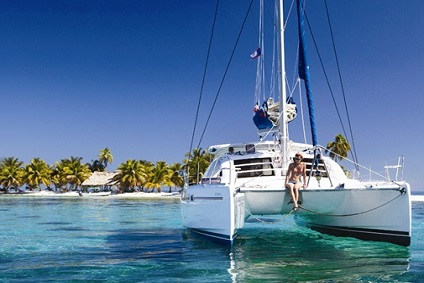 Catamaran charter Caribbean - Sailing Catamaran in the Caribbean