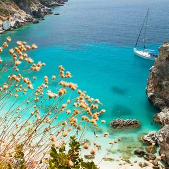 Sailing Activities and Suggestions for Lefkas, Agiofili beach, Lefkada - credit N. Radojevic